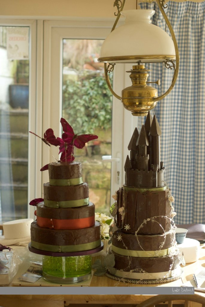 Cumbrian wedding cakes