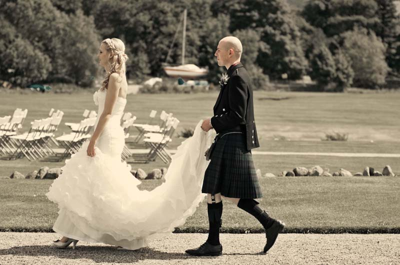 Wedding image, Lake district photographers.