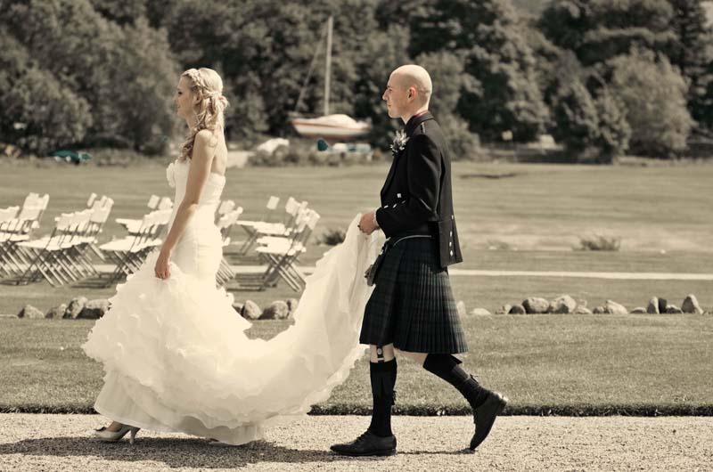 Wedding image, Lake district photographers.