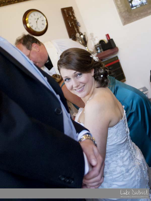 Happy wedding images cumbria