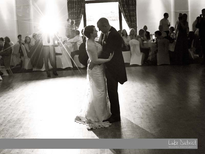 Rachel and Ian at the Greenhill Hotel, cumbria