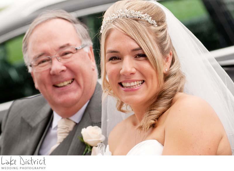 Wedding in Pooley bridge, Cumbria