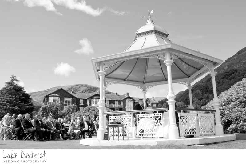 Outdoor wedding, glenridding