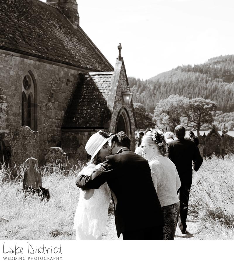 family wedding photographer, lake district