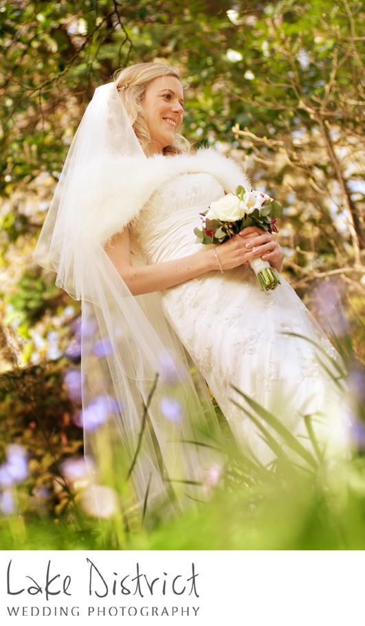 Newby Bridge wedding photography.