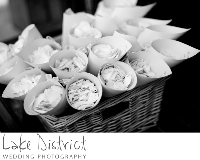 Vintage wedding idea in the lake district