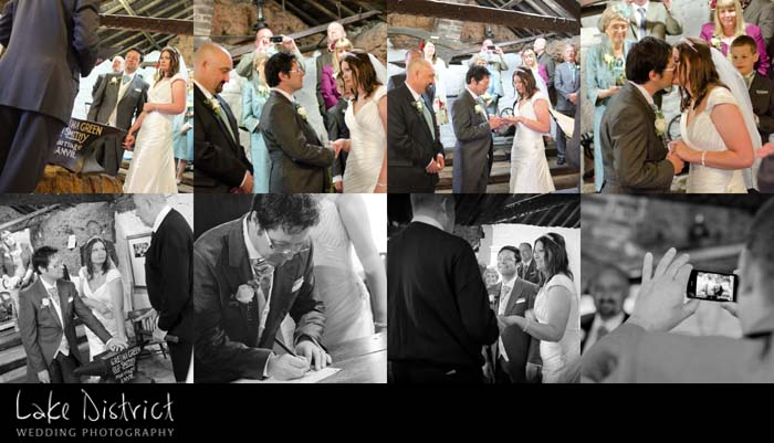 wedding photography in the borders.