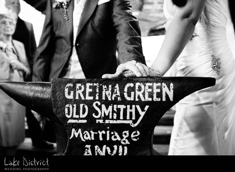 marriages in Gretna Green reccomended photographers.