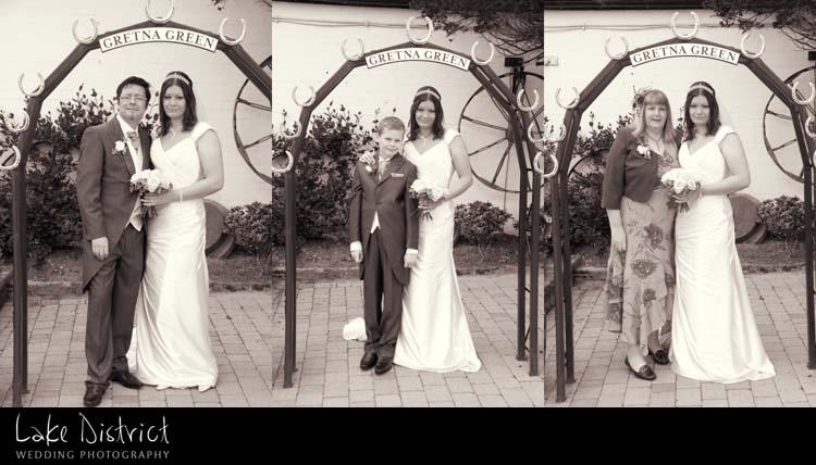 Creative wedding photographers in the Uk