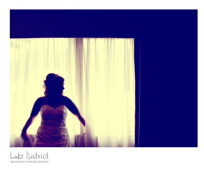Alternative wedding image at the North Lakes Hotel.