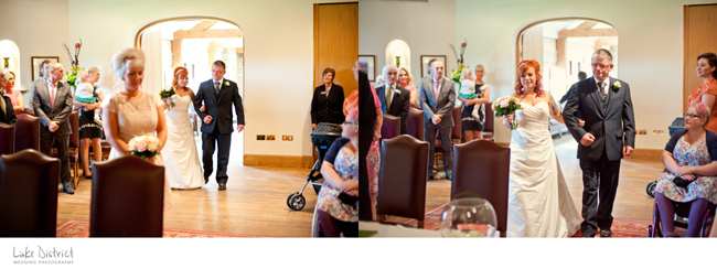Photography of a wedding in Cumbrias Eden Valley