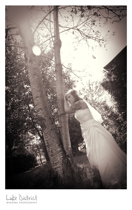 Rock n roll bridal image