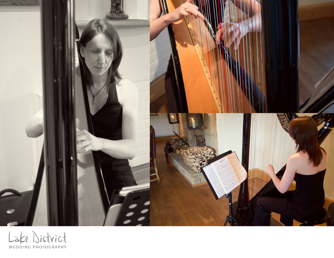 Amazing Harpist in Penrith photographer.