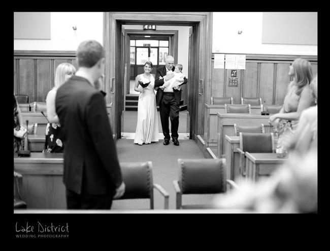 Kendal wedding photography.