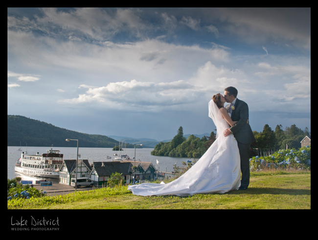 Lake district wedding photographers.