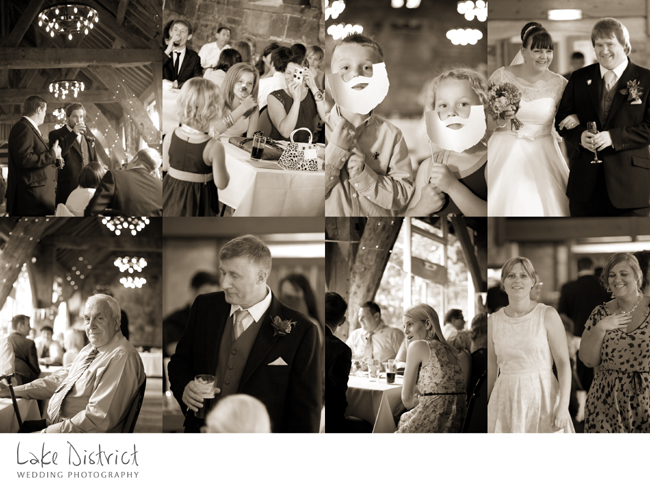 mono wedding photography in cumbria and nationally