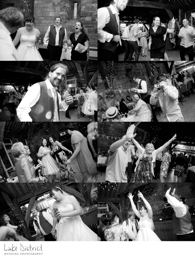 crazy images of wedding dancing.