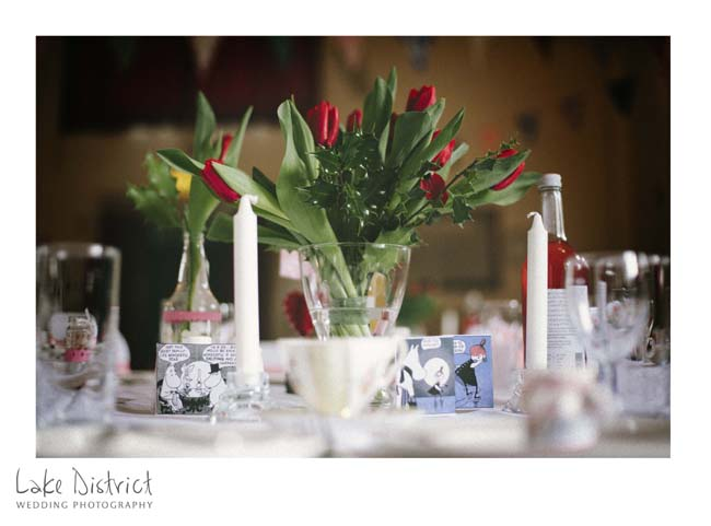 amazing venue styling in Cumbria.