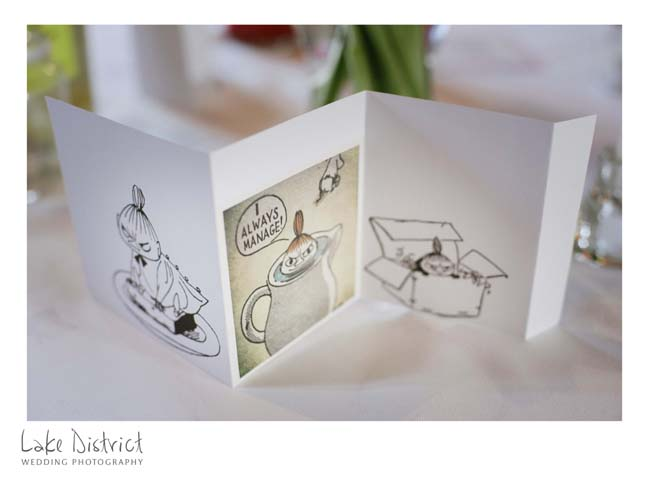 Moomins themed wedding