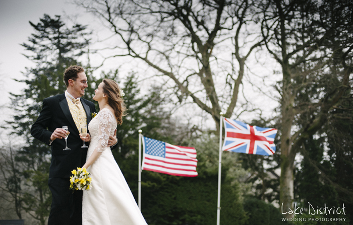 Britain vs USA wedding