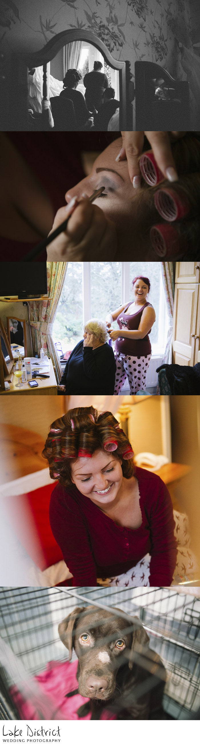 cumbria and lake district wedding photography