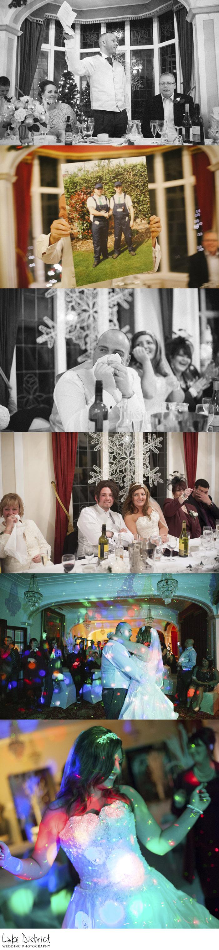 grange over sands and newby bridge wedding photographers