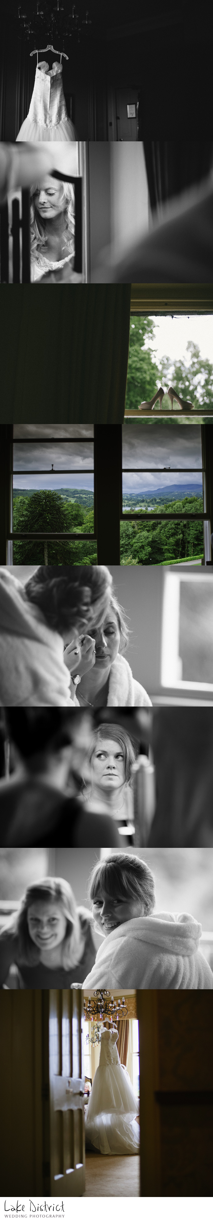 Wedding photography in cumbria and the Lake District
