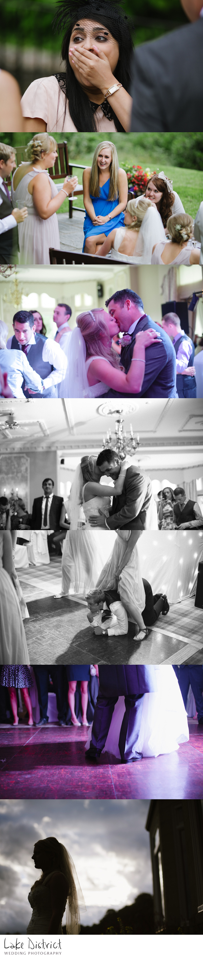 First dance images at the Merewood hotel in CUmbria