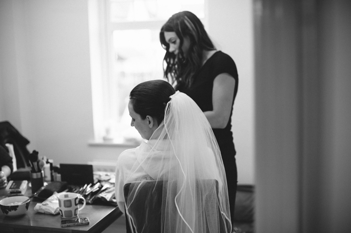 Cumbria photographers brides veil